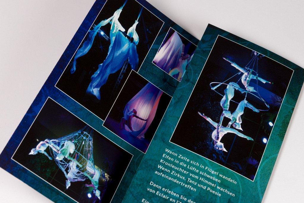 Programm-Folder für Eclair en l'Air