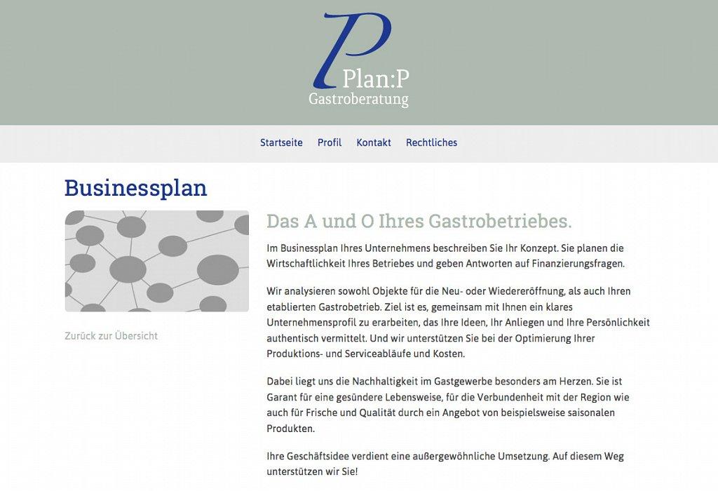 Plan P Gatsroberatung