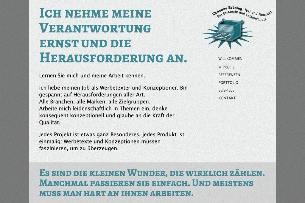 Christine Brüning Text und Konzept